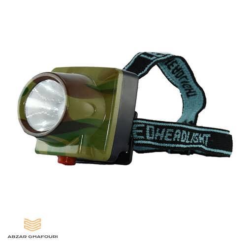 چراغ قوه پیشانی شارژی تک لامپ مدل SL-2015