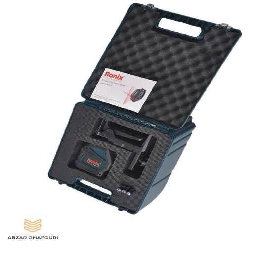 تراز لیزری دو خط رونیکس مدل RH-9500 از پشت