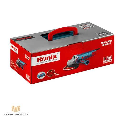 مینی فرز 1100 وات دیمردار رونیکس مدل 3100K در جعبه